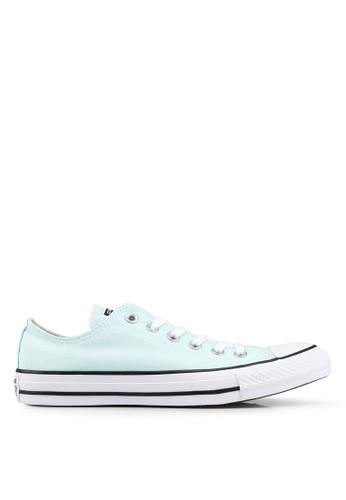 Converse 藍色 Chuck Taylor All Star Ox 運動鞋 FABD5SH62C1D42GS_1