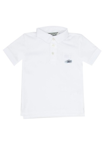 Onitsuka Tiger white Kid Polo Shirt 25FFDKA75A0559GS_1