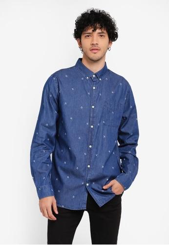 Cotton On blue Brunswick Shirt CO372AA0SSADMY_1