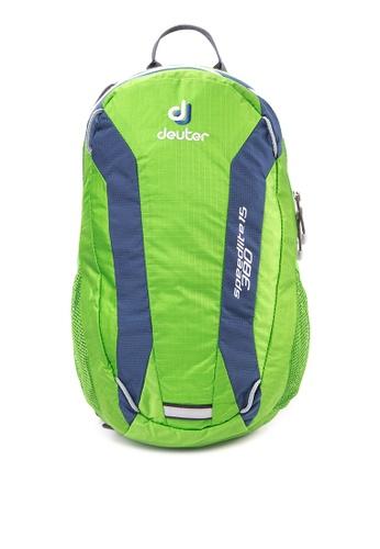 Deuter green and blue Deuter Speed Lite 15 DE112AC28MQPPH_1