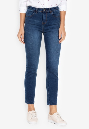 3ae5ccf021841 Shop BNY Straight Cut Jeans Online on ZALORA Philippines