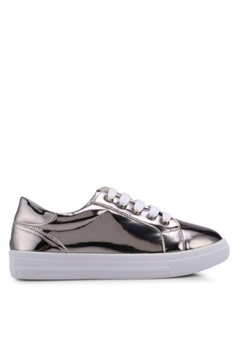 Carlton London silver Metallic Sneakers EA7D8SHC1555E6GS_1