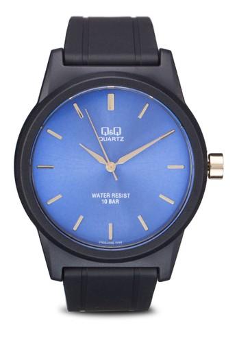 VR35J026Y 刻度顯示撞色圓錶, 錶esprit鞋子類, 飾品配件