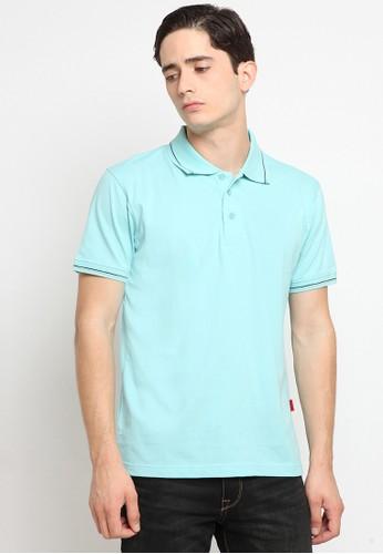 Police Denim blue Comfort Polo Shirt CB36CAAD505A6EGS_1