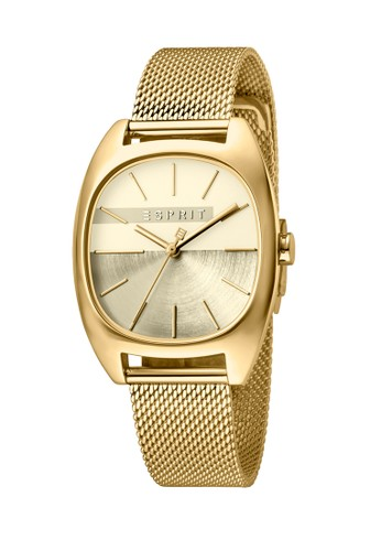 Esprit Watches gold ESPRIT Infinity Ladies Gold Dial Gold Stainless Steel Watch D710BAC10FAC11GS_1