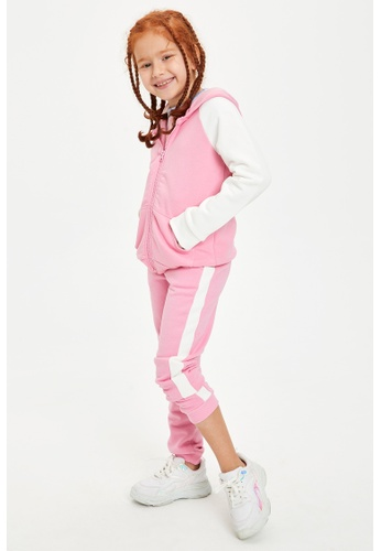DeFacto pink Girl Knitted Bottom Trousers B8C1AKAF8220E2GS_1