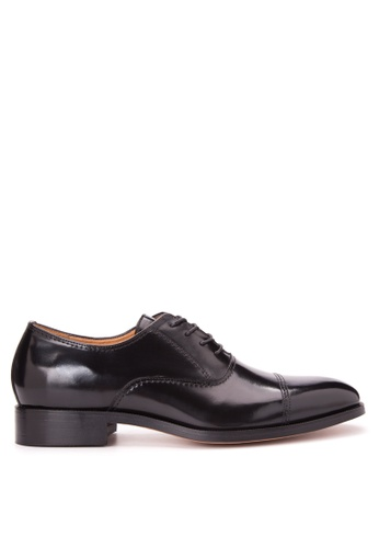 Bristol Shoes black Benedict Black Cap Toe Oxford BR842SH84JTZPH_1