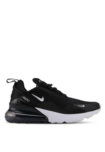 Nike black and white Women's Nike Air Max 270 Shoes B3310SH774AC93GS_1