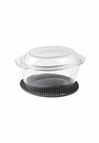 Slique white Premium Borosilicate Oval Glass Baking Dish 3000ml 2B418HL0B72CACGS_1