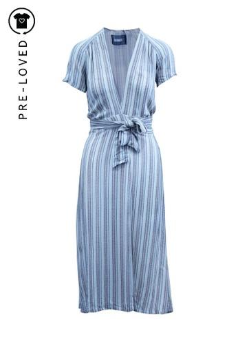 Reformation beige Pre-Loved reformation Maxi Beige Striped Dress 2C735AA09DC151GS_1