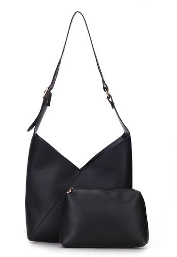 Lara black Shoulder Bag with Pouch 582BBACA230755GS_1
