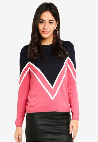 ONLY navy Holli Pullover Knit F93DFAA338195FGS_1