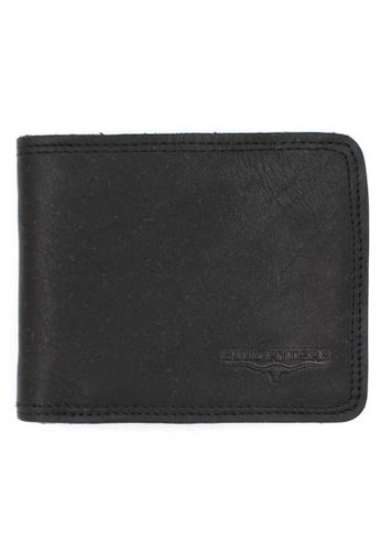 midzone black BULL RYDERS Premium Genuine Leather Wallet 80A87AC0FB371FGS_1