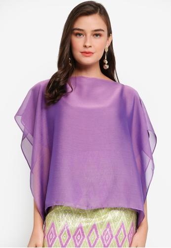 Haizi purple Jojo Top B6248AA15E5D51GS_1