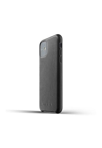 Mujjo black Mujjo Full leather case for iPhone 11 Black 58E6AAC0CC6DEFGS_1