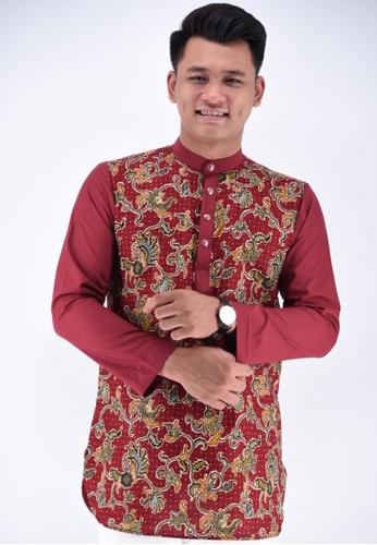 UA BOUTIQUE red Kurta Batik UAKLB06-031 (Red) 9919CAAD2A18CCGS_1