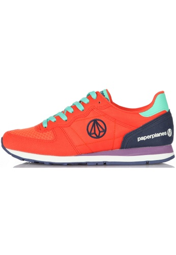 paperplanes Paperplanes-1142-1 Fashion Colorful Low Top Training Sneakers Shoes US Women Size PA110SH64ZXZHK_1