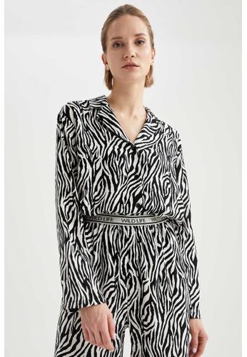 DeFacto white Woman Homewear Woven Top 1408BAAE500BDFGS_1