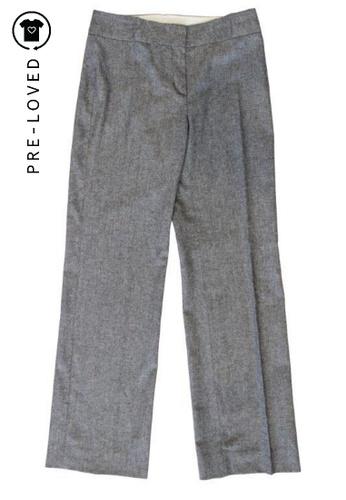 Alberta Ferretti grey Pre-Loved alberta ferretti Gray Tweed Pants 95BAFAA327B8A5GS_1
