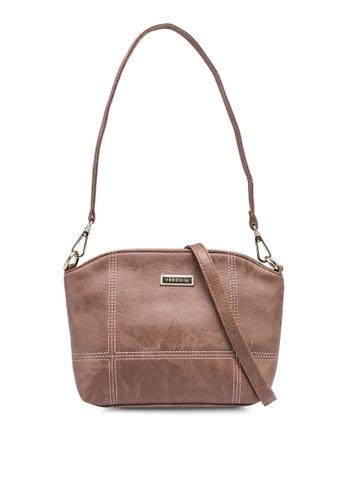 Verchini brown Savvy Party Bag 866AFAC7EB008BGS_1
