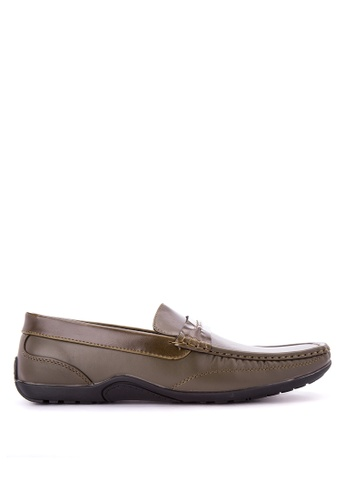 Italianos green Barry Loafers IT153SH0KJ1LPH_1