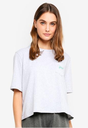 Cotton On Body grey Boxy T-Shirt D89E8AAE5B6AC8GS_1