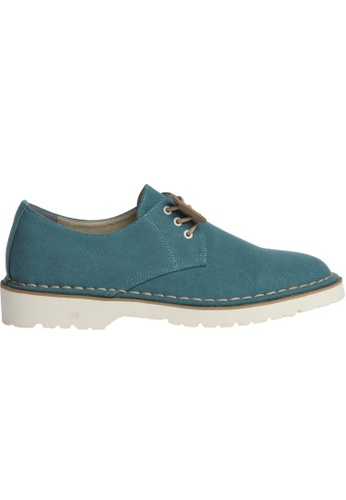 paperplanes blue Gadae-026 Casual 3-Holes Canvas Dress Loafers Shoes US Women Size PA355SH22PLTSG_1