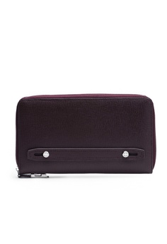 eab64f0a713 Faire Leather Co. red Specter CG Travel Wallet (Burgundy) - Travel Leather  Accessories