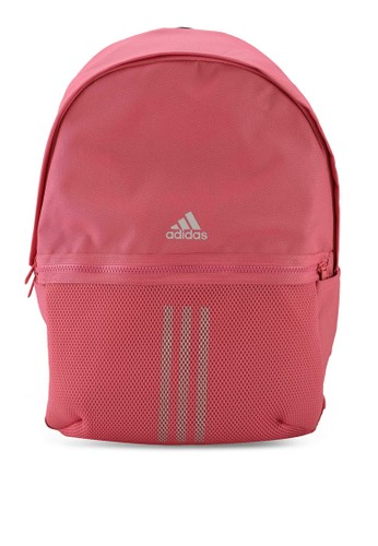 ADIDAS pink classic 3-stripes backpack C5178ACD826F04GS_1