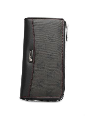 Playboy black RFID Blocking Long Wallet CA283AC97EF1EFGS_1