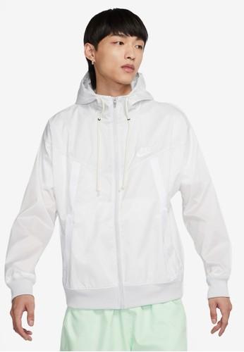 Nike grey Men's Windrunner Jacket 17FBAAA05E5B3FGS_1