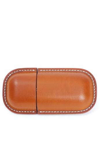 Twenty Eight Shoes Handmade Leather Glasses Case QYE103 D4B94AC9F989FAGS_1