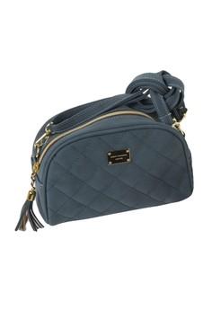 Elegant Beauty Quilted Sling Bag