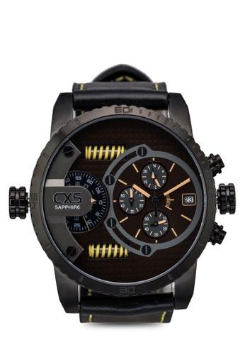 Carlo Cardini black Carlo Cardini CX5 006G-GM-9 Gents Watch CA038AC58LDTMY_1