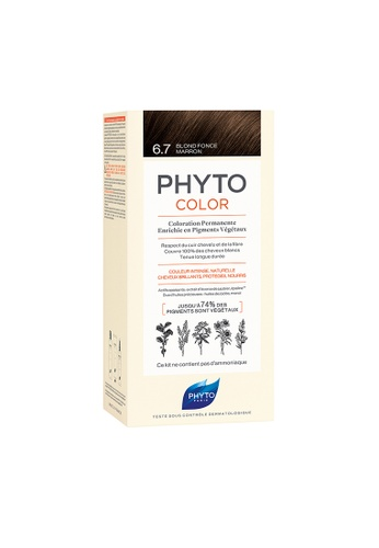 PHYTO brown Phytocolor 6.7 Dark Chestnut Blond AB326BEAE83030GS_1