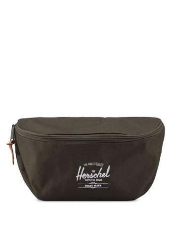 Herschel green Sixteen Hip Pack AF3E5ACB2DE6C1GS_1