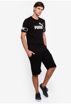 05e5a7b5f2a PUMA Sportstyle Core Amplified Big Logo Tee S$ 29.00. Sizes S M L XL