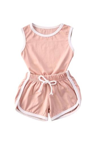 RAISING LITTLE pink Dalton Outfit Set 78FD7KA82883A7GS_1
