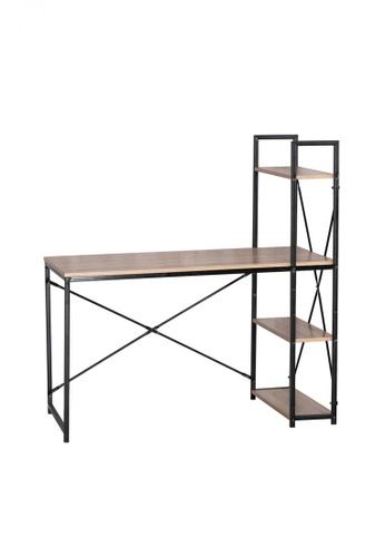 8C Furniture black Yegg Office Table 3279EHL59875BAGS_1