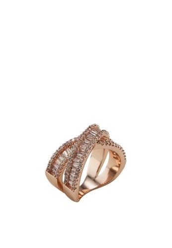 ALDO 粉紅色 鑽飾戒指 9A259AC159B4EEGS_1