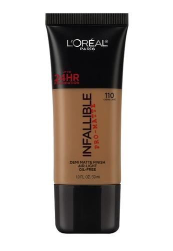 L'Oréal Paris beige L'Oreal Paris Infallible Pro-Matte Liquid Foundation - 110 Crème Café 4A47CBE9EEA7AAGS_1