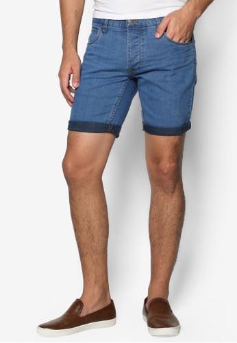 Lt Joy 彈性丹寧短褲,esprit床組 服飾, 短褲