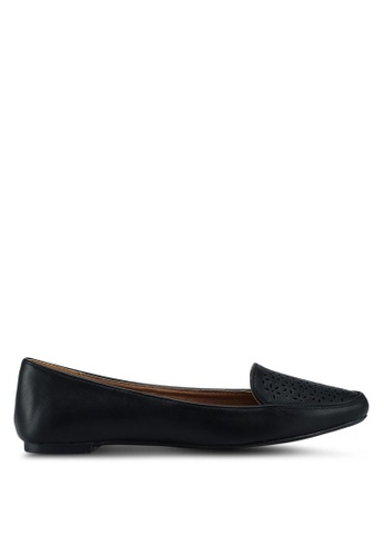 Rubi black Peta Point Loafers 848F7SHF0B4255GS_1