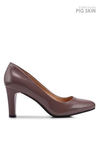 BETSY beige Classic Pump Heels D056ESH6738129GS_1