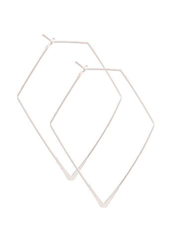 Forever New gold Hannah Fine Diamond Hoop Earring 1E606ACD66207FGS_1