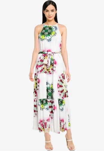 Desigual white Kaleidoscope Motif Maxi Dress 9E942AAEB80926GS_1