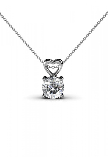 Her Jewellery silver Her Jewellery Sweet Love Pendant with Necklace Chain with 18K Gold Plated D83E8AC74B1524GS_1