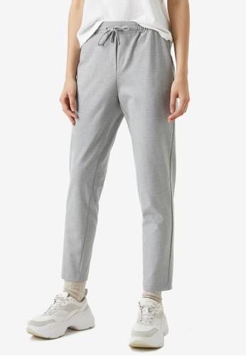 KOTON grey Casual Pants 413E4AAEF2CB16GS_1