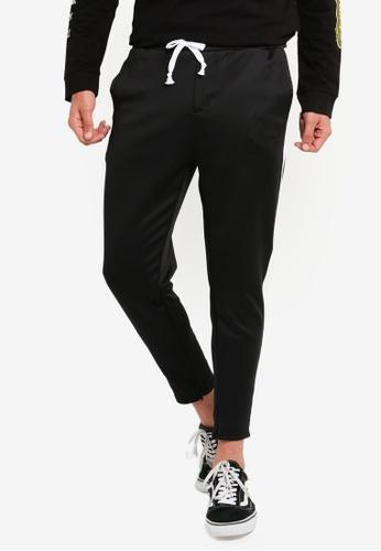Jack & Jones 黑色 Basic 棉褲 CAA32AA8C2C43DGS_1