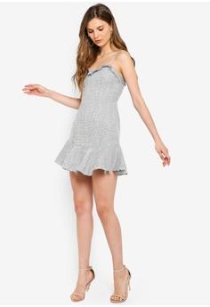 41a30d82 8% OFF INDIKAH Textured Tweed Ruffle Hem Dress S$ 97.00 NOW S$ 88.90 Sizes  6 8 10 12